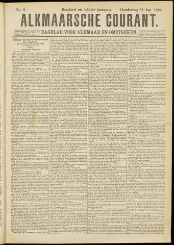 Alkmaarsche Courant 1906-01-11