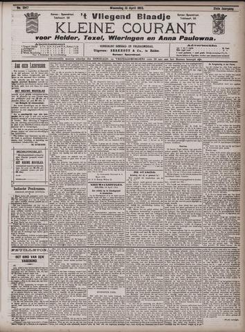 Vliegend blaadje : nieuws- en advertentiebode voor Den Helder 1903-04-15