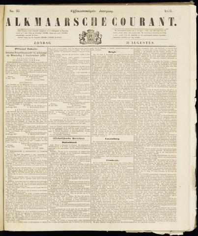 Alkmaarsche Courant 1873-08-31