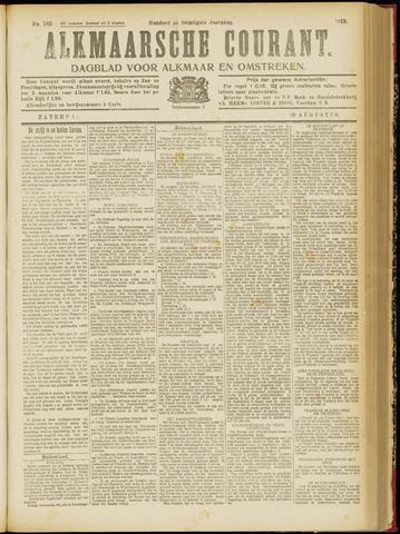 Alkmaarsche Courant 1918-08-10