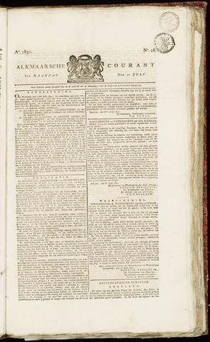 Alkmaarsche Courant 1831-07-11