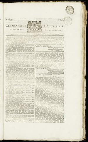 Alkmaarsche Courant 1835-11-23