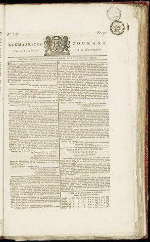 Alkmaarsche Courant 1831-12-19