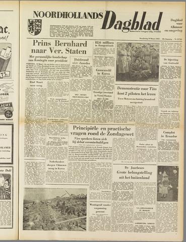 Noordhollands Dagblad : dagblad voor Alkmaar en omgeving 1953-03-19