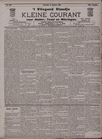 Vliegend blaadje : nieuws- en advertentiebode voor Den Helder 1900-08-22