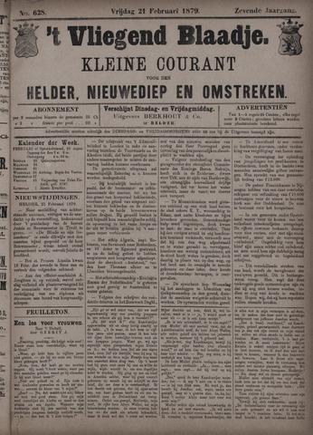 Vliegend blaadje : nieuws- en advertentiebode voor Den Helder 1879-02-21