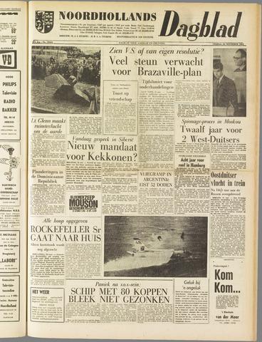 Noordhollands Dagblad : dagblad voor Alkmaar en omgeving 1961-11-24