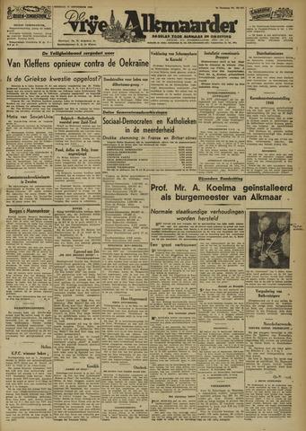 De Vrije Alkmaarder 1946-09-17