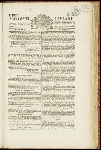 Alkmaarsche Courant 1852-08-30
