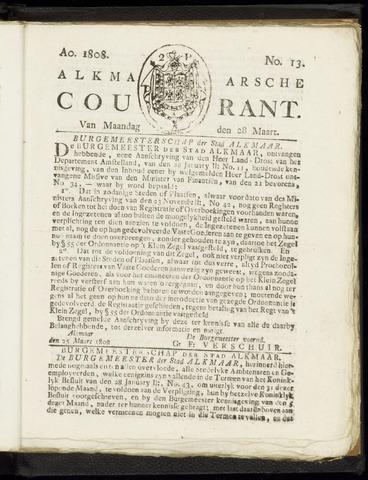 Alkmaarsche Courant 1808-03-28