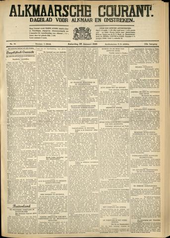 Alkmaarsche Courant 1933-01-28