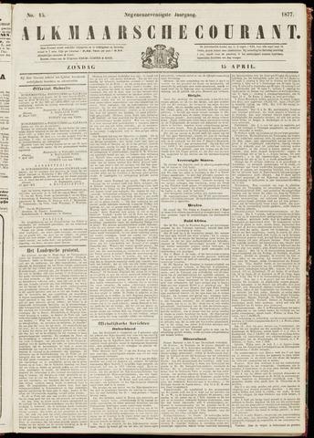 Alkmaarsche Courant 1877-04-15