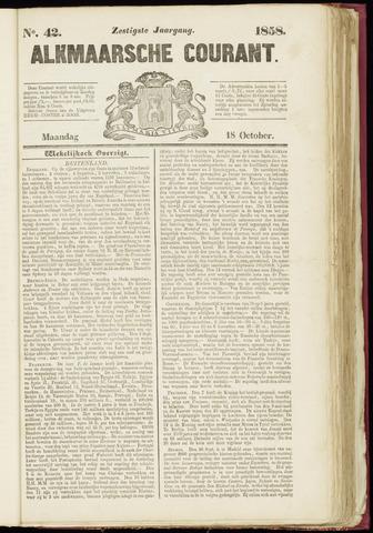 Alkmaarsche Courant 1858-10-18