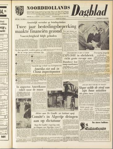 Noordhollands Dagblad : dagblad voor Alkmaar en omgeving 1958-06-11