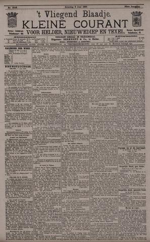 Vliegend blaadje : nieuws- en advertentiebode voor Den Helder 1895-06-08