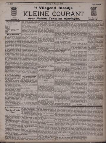 Vliegend blaadje : nieuws- en advertentiebode voor Den Helder 1900-02-24