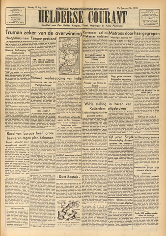 Heldersche Courant 1950-08-15