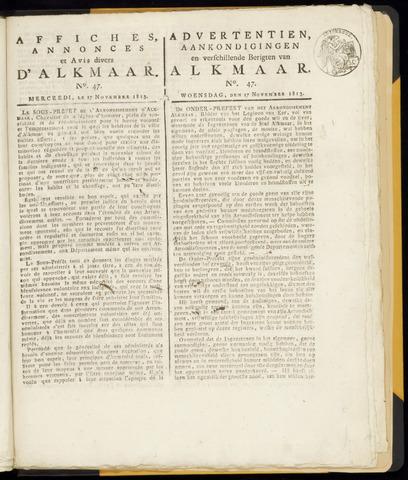 Alkmaarsche Courant 1813-11-17