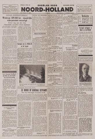 Dagblad Noord-Holland, Schager editie 1943-02-09