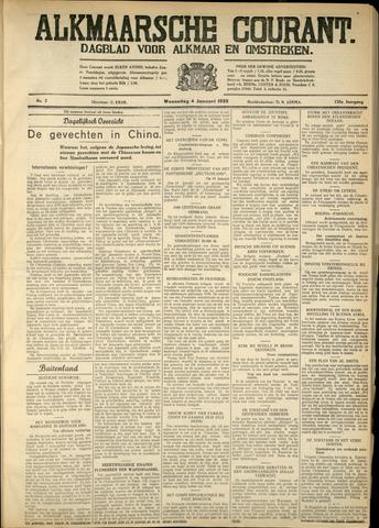 Alkmaarsche Courant 1933-01-04
