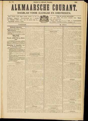 Alkmaarsche Courant 1913-07-25