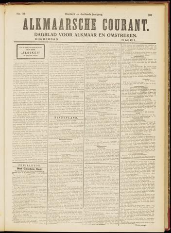Alkmaarsche Courant 1911-04-13
