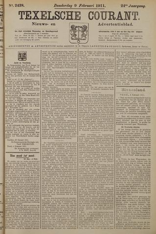 Texelsche Courant 1911-02-09