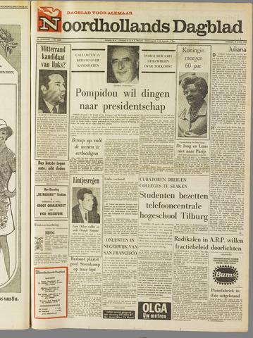 Noordhollands Dagblad : dagblad voor Alkmaar en omgeving 1969-04-29
