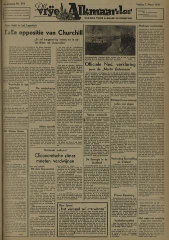 De Vrije Alkmaarder 1947-03-07