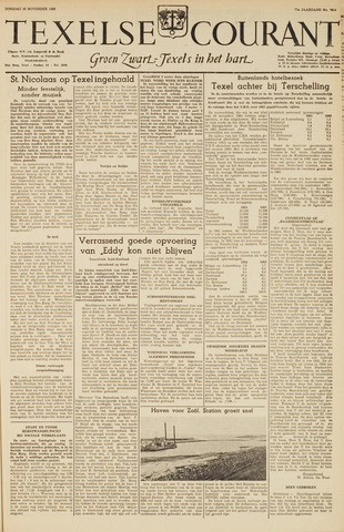 Texelsche Courant 1963-11-26
