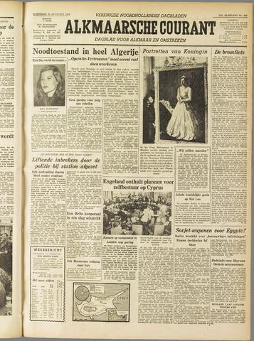 Alkmaarsche Courant 1955-08-31