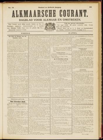 Alkmaarsche Courant 1911-04-21