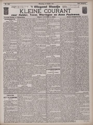 Vliegend blaadje : nieuws- en advertentiebode voor Den Helder 1913-10-15