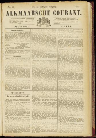 Alkmaarsche Courant 1881-07-27