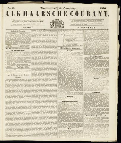 Alkmaarsche Courant 1870-08-07