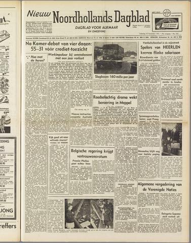 Nieuw Noordhollandsch Dagblad : voor Alkmaar en omgeving 1951-11-10