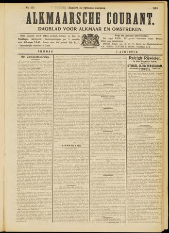 Alkmaarsche Courant 1913-08-01