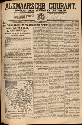 Alkmaarsche Courant 1939-09-30