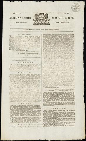 Alkmaarsche Courant 1817-09-08