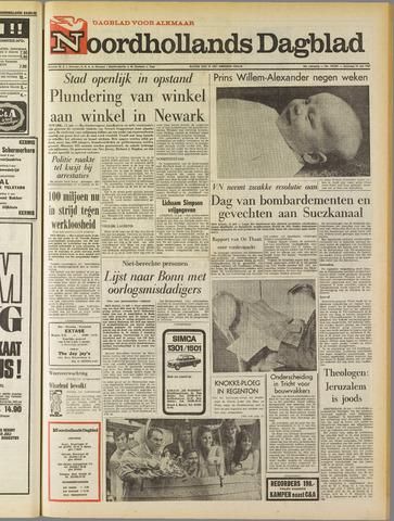 Noordhollands Dagblad : dagblad voor Alkmaar en omgeving 1967-07-15