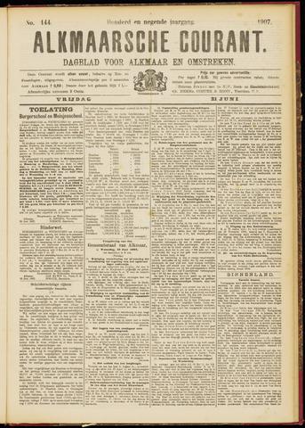 Alkmaarsche Courant 1907-06-21