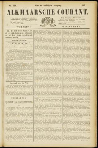 Alkmaarsche Courant 1882-12-13