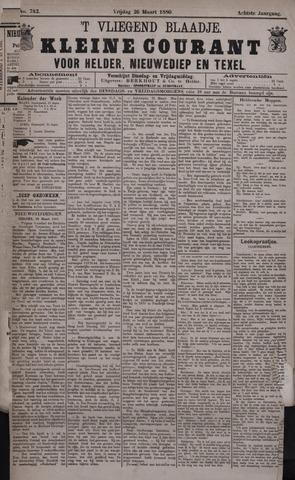 Vliegend blaadje : nieuws- en advertentiebode voor Den Helder 1880-03-26