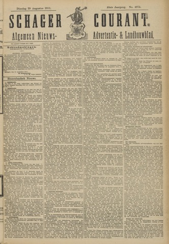 Schager Courant 1911-08-29