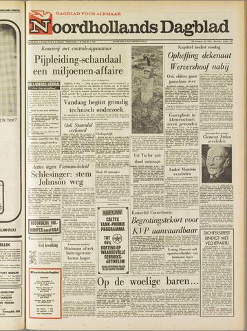 Noordhollands Dagblad : dagblad voor Alkmaar en omgeving 1967-10-09