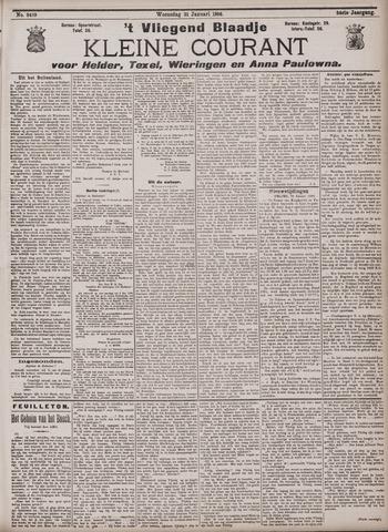 Vliegend blaadje : nieuws- en advertentiebode voor Den Helder 1906-01-31