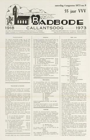 Badbode voor Callantsoog 1973-08-04