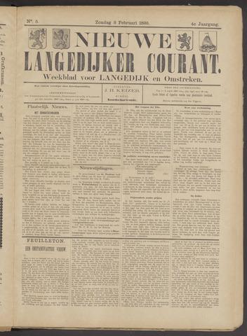 Nieuwe Langedijker Courant 1895-02-03