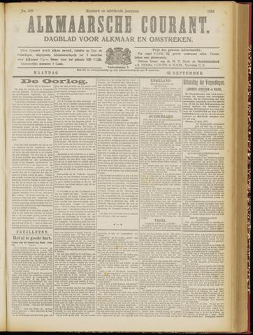 Alkmaarsche Courant 1916-09-25