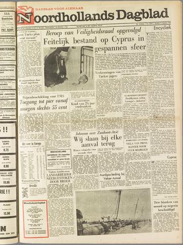 Noordhollands Dagblad : dagblad voor Alkmaar en omgeving 1964-08-11
